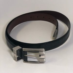 Johnston & Murphy Mens Black Belt 46 Inch